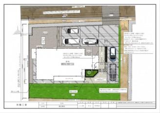 CAD設計平面図